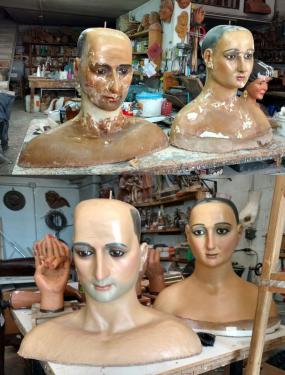 Restauració parella de gegants
