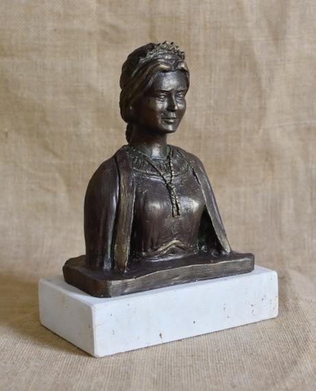 Bust Gegata Jove Bronze